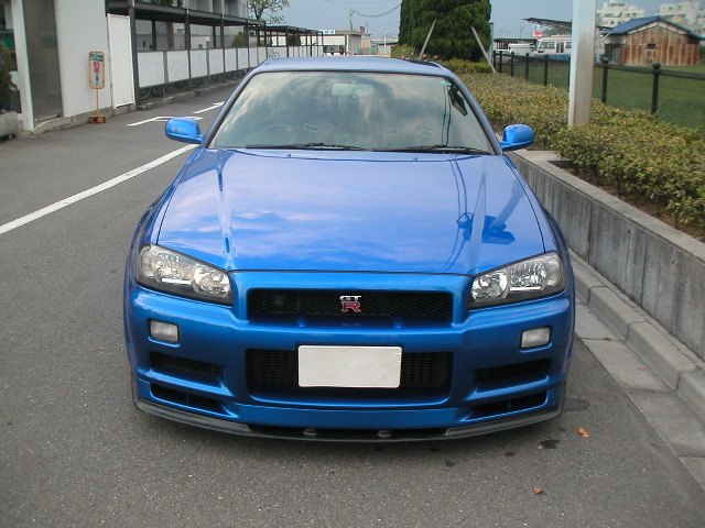 nissan skyline r34 gt r v spec 1999 used for sale. Black Bedroom Furniture Sets. Home Design Ideas