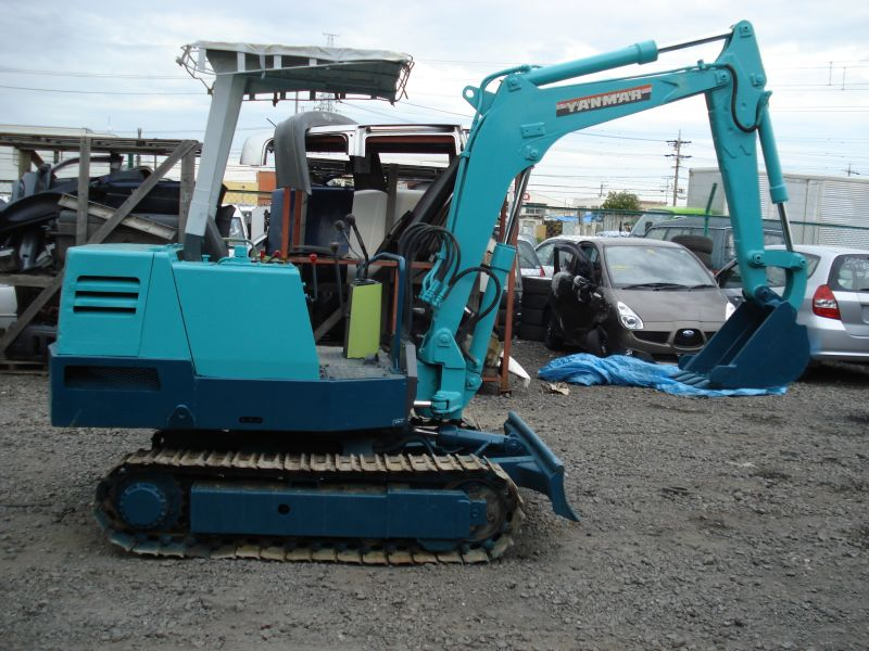 Yanmar 240d 2wd Parts : Yanmar mini excavator n a used for sale