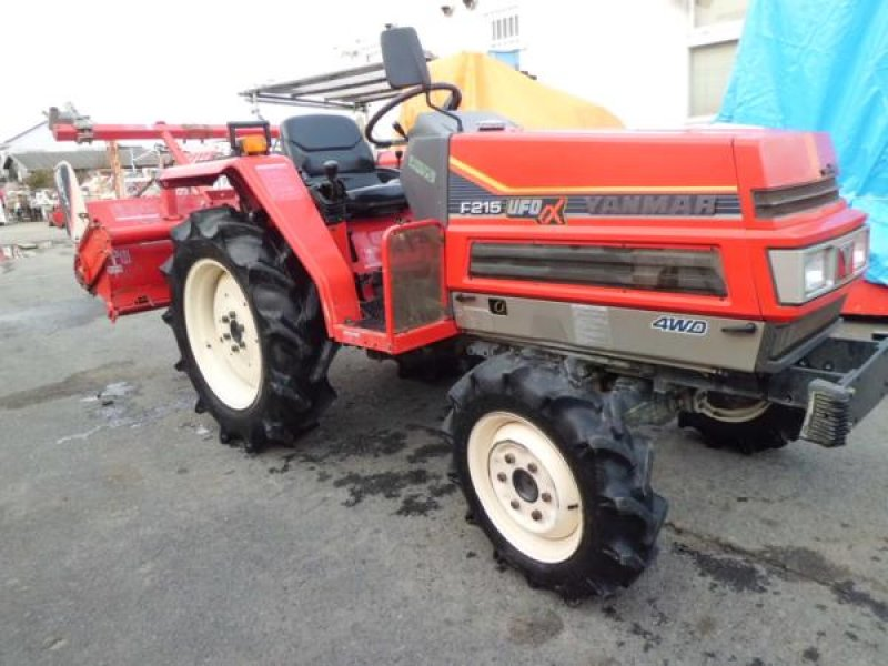 Antique Yanmar Tractors : Yanmar tractor f n a used for sale