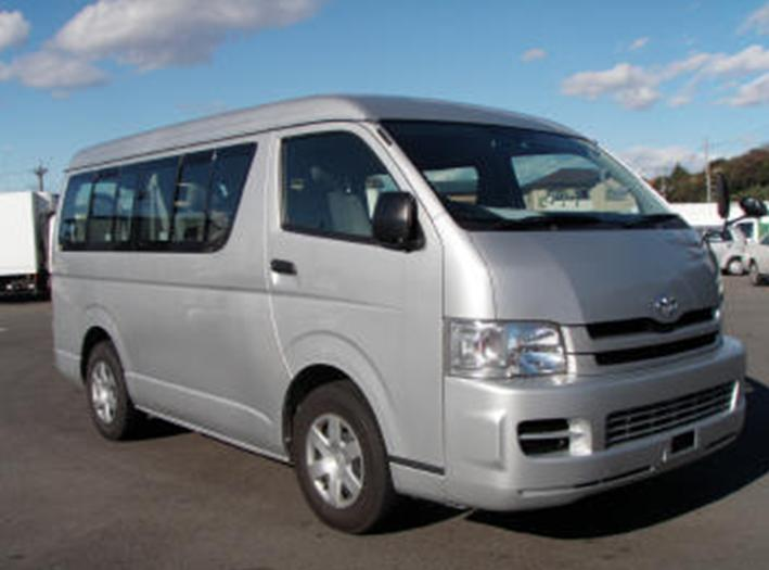 Toyota HIACE VAN 10 Passenger, 2005, Used For Sale