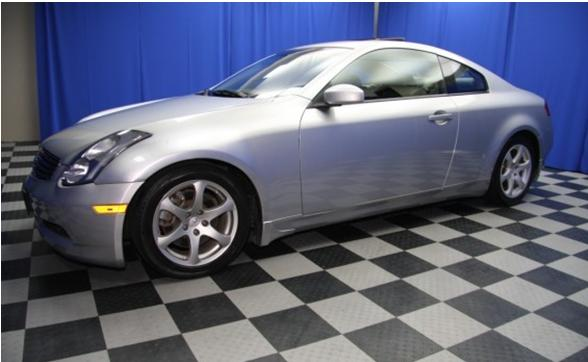infiniti g35 coupe g35 coupe 2005 used for sale skyline. Black Bedroom Furniture Sets. Home Design Ideas