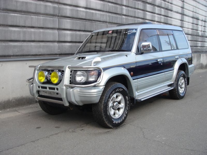 mitsubishi pajero exceed 1993 used for sale. Black Bedroom Furniture Sets. Home Design Ideas