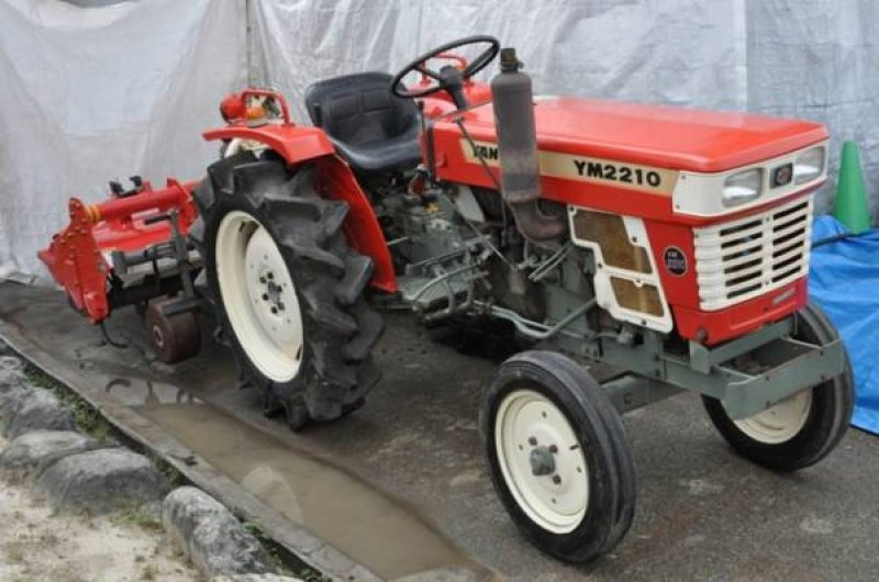 Antique Yanmar Tractors : Yanmar tractor h n a used for sale