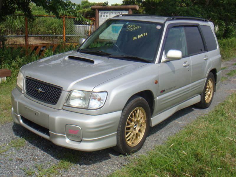 subaru forester s tb sti 2000 used for sale. Black Bedroom Furniture Sets. Home Design Ideas