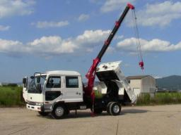 Used Nissan UD Crane Truck