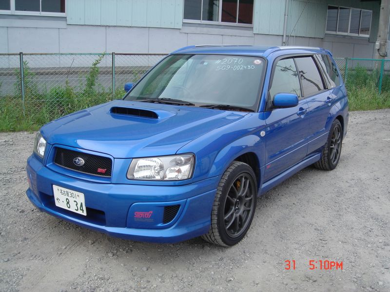 subaru forester sti 2004 used for sale. Black Bedroom Furniture Sets. Home Design Ideas