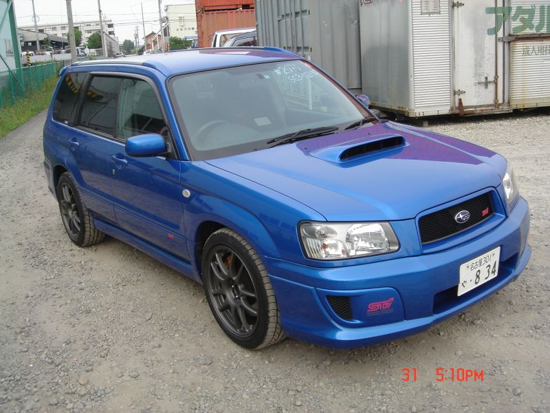 Subaru Forester Sti 2004 Used For Sale