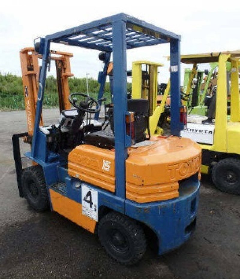 Toyota Forklift For Sale: Toyota FORKLIFT 5FGL15, N/A, Used For Sale