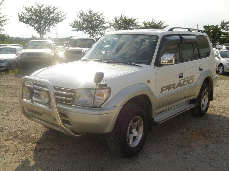 toyota land cruiser prado tx 1998 used for sale. Black Bedroom Furniture Sets. Home Design Ideas