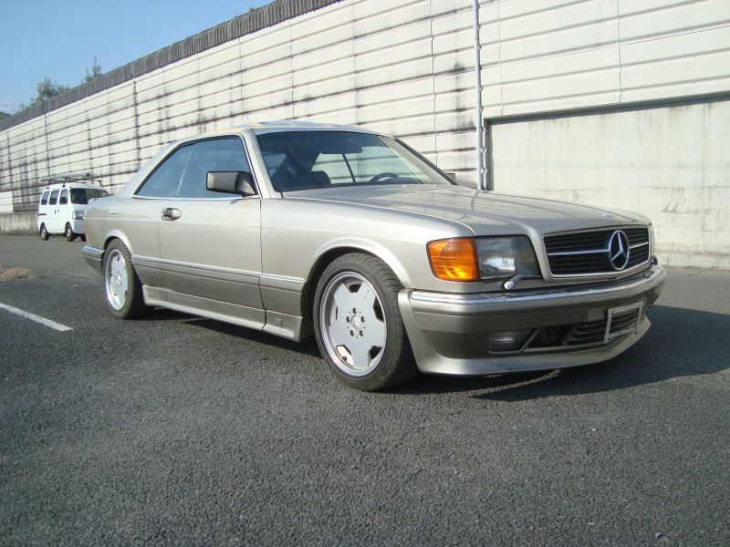 Mercedes benz 560sec 1986 used for sale for Mercedes benz history name