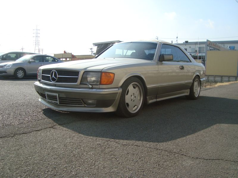 Mercedes benz 560sec 1986 used for sale for Mercedes benz 560sec for sale