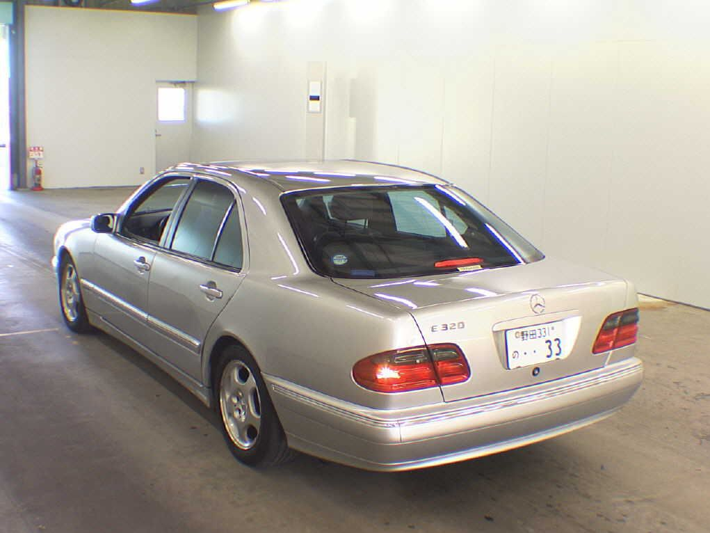 Mercedes benz e320 e320 2000 used for sale for Mercedes benz car history