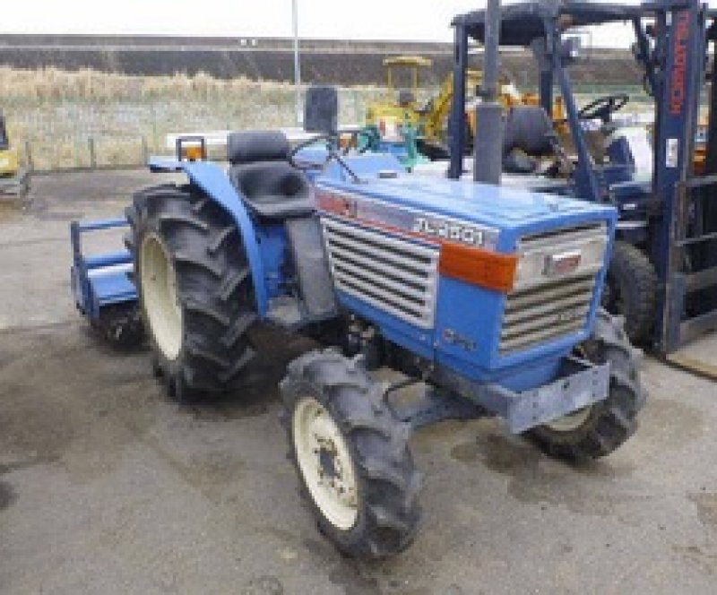 Iseki Tractor Tl2501 N A Used For Sale