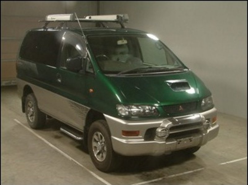 mitsubishi delica space gear jasper 4wd 1998 used for sale. Black Bedroom Furniture Sets. Home Design Ideas