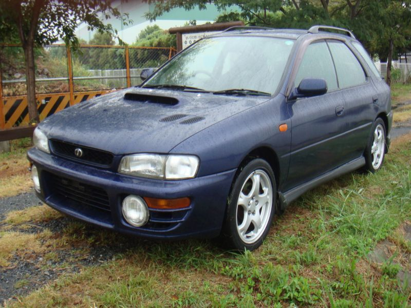 subaru impreza sports wagon wrs 4wd 1997 used for sale. Black Bedroom Furniture Sets. Home Design Ideas