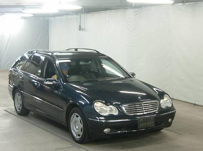 mercedes benz c class wagon 2001 used for sale