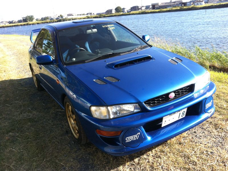 subaru impreza wrx sti ver6 1999 used for sale. Black Bedroom Furniture Sets. Home Design Ideas