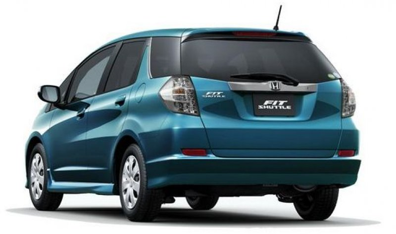 Stretched to Fit: Honda Fit Shuttle, Fit Shuttle Hybrid