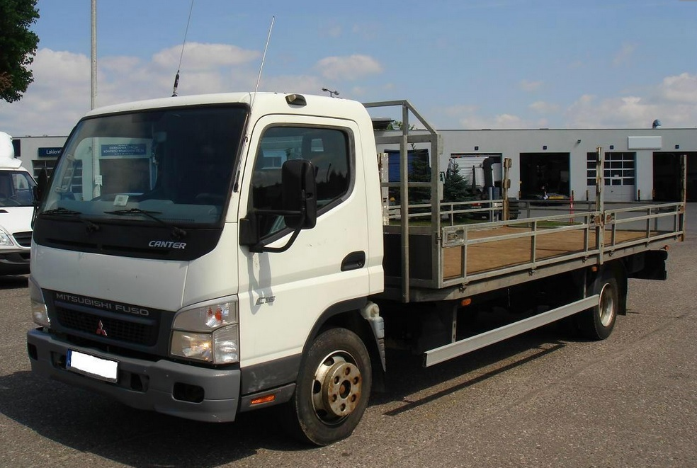 mitsubishi fuso truck canter 2008 used for sale. Black Bedroom Furniture Sets. Home Design Ideas
