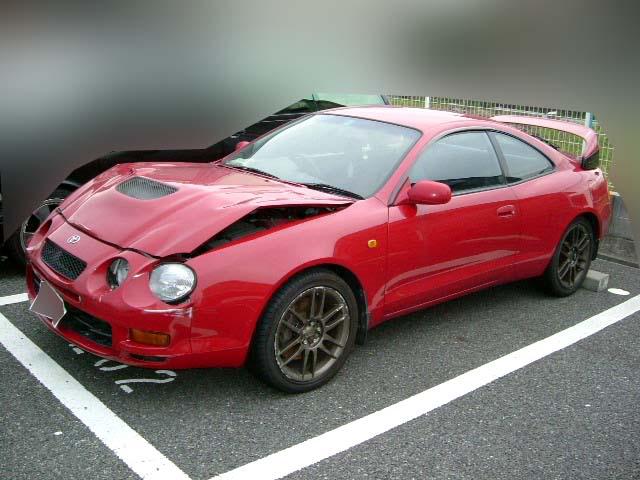 Toyota Celica GTFOUR WRC SPEC 1994 damaged for sale