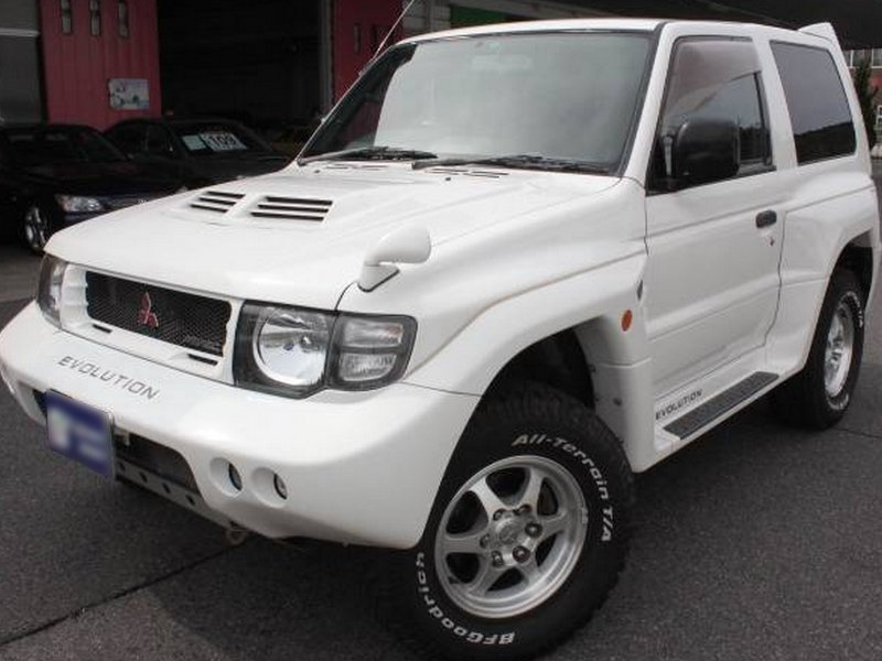 mitsubishi pajero evolution 1998 used for sale. Black Bedroom Furniture Sets. Home Design Ideas