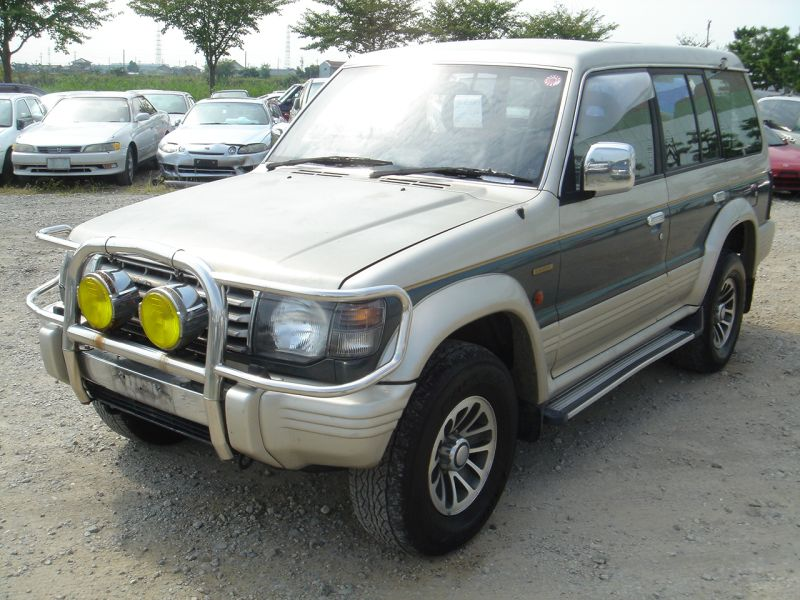 mitsubishi pajero exceed 1992 used for sale. Black Bedroom Furniture Sets. Home Design Ideas