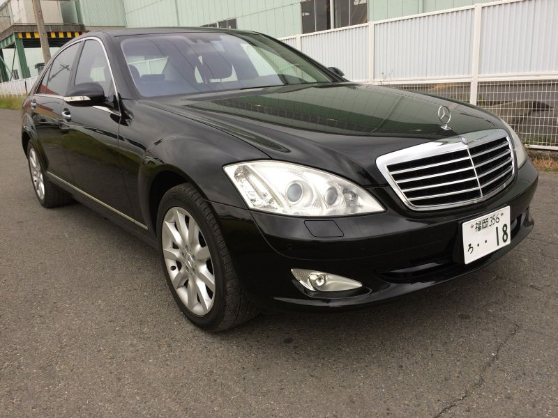 Mercedes benz s550 long 2007 used for sale for Used mercedes benz s550 for sale