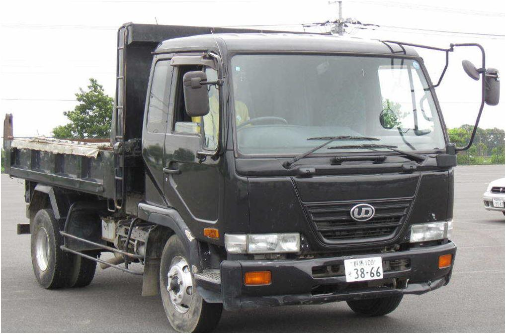 Used nissan ud trucks for sale in japan #3