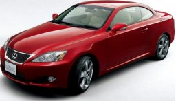 Used Lexus is250c