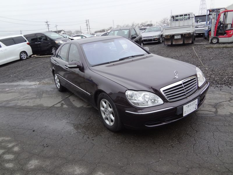mercedes benz s class s500 2003 used for sale