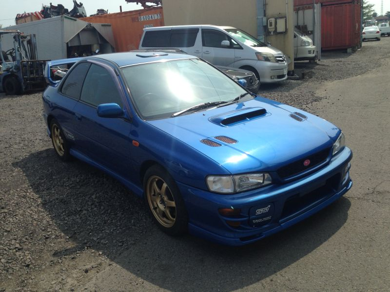 subaru impreza wrx type r sti vi limited 1999 used for sale. Black Bedroom Furniture Sets. Home Design Ideas