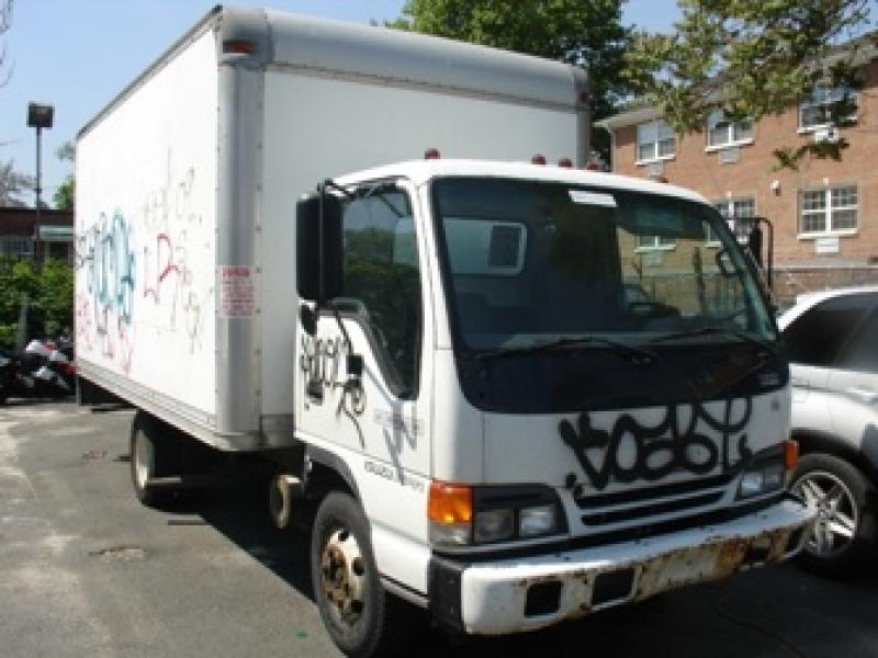 isuzu npr box truck 1999 used for sale. Black Bedroom Furniture Sets. Home Design Ideas