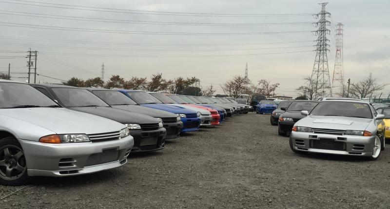 Nissan Skyline yard Japan Partner